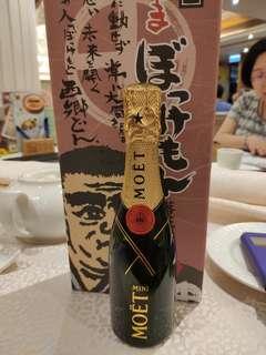 迷你毛澤東香檳200ml一支。