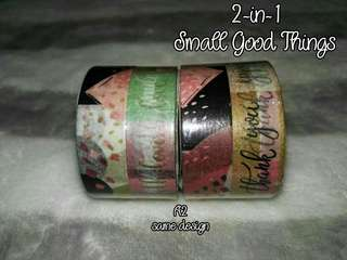 A2 Small Good Things Washi Tape