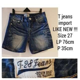 T-Jeans Short Pants
