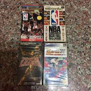 🚚 Famicom 遊戲卡帶4片