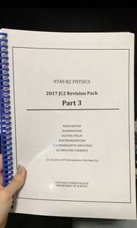 H2 Physics Revision Pack