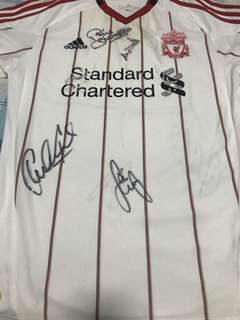 Autographed Liverpool Jersey (2011)