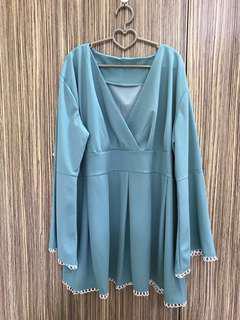 [REDUCED] Plus Size Kimono Wrap Blouse
