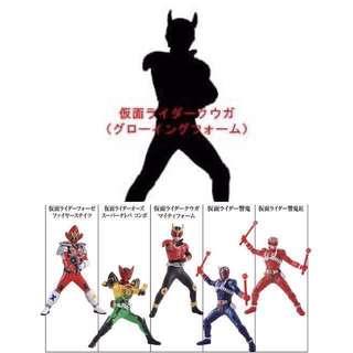 HMP Kamen Rider 【日版】幪面超人 絕創 灼熱之炎與真紅之戰士編 盒蛋  全6種[包隱藏版1種]   @KAZOEshop