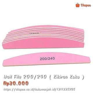 200/240 Nail File ( Kikiran Kuku )