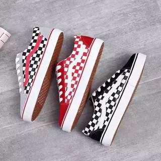 Vans Old Skool Checkered Inspired Sneakers