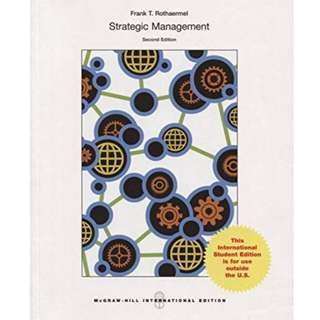 Strategic Managements Second Edition