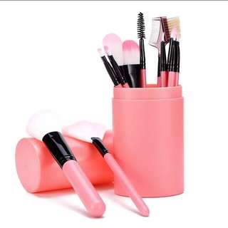 12 Makeup brush set