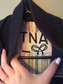 TNA Aritzia Black Fall Jacket