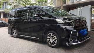 Kereta Sewa Murah - Toyota Velfire 2016