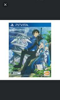 PS Vita Sword Art Online Lost Song R3 (Jap Voice, Eng Sub)