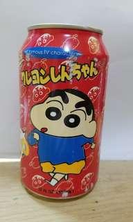 2000 年日本蠟筆小新飲料可樂罐