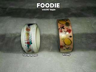 Foodie Washi Tape