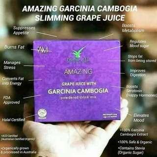 Garcinia Slimming Grape Juice