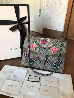 Fast sale !  Pre❤limited Gucci dionysius sz 30 cm komplit set with ori rec 2017 was bought almost 60 jt