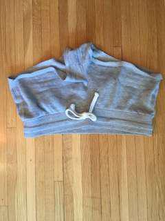 Booty shorts grey sweats