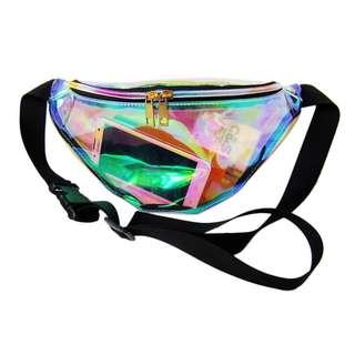 Transparent fanny pack/ belt bag/ bum bag