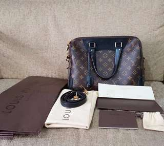 Excellent LV Retino NM monogram complete with dustbag, paperbag and receipt Pacific Place Jakarta (34x26x18cm)