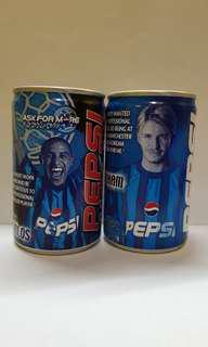 2000 年英國碧咸 Beckham 卡路士 Carlos 百事可樂罐