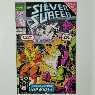 Silver Surfer No.52 comic