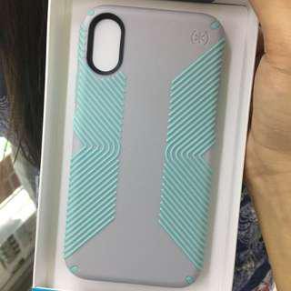 Speck Presidio Grip iPhone X Mint Green