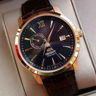 only hk$920, 100% new ORIENT Classic Automatic Black Dial Men's Watch Item No. FAL00004B0手錶