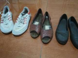 Sepatu sepaket 3 pcs