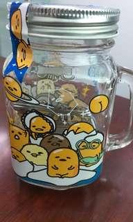 gudetama glass mug