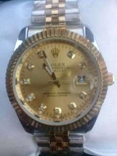 Jam rolex kw super .. (90%mirip ori. Ada tanggal nya)
