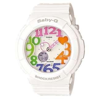CASIO Baby-G BGA-131 series BGA-131-7B3 白色 BabyG BGA131