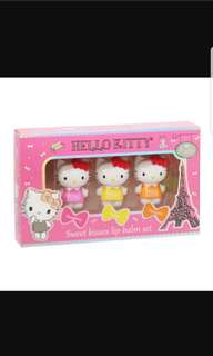 (Limited Edition) Sanrio Hello Kitty Sweet Kisses Lip Balm Set