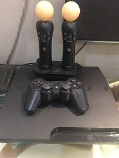 Playstation 3+motion sensors+games