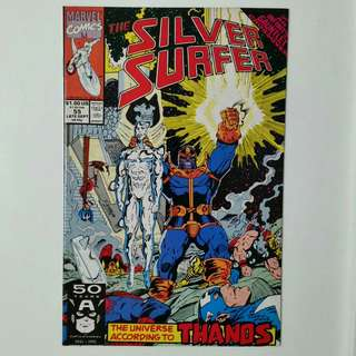 Silver Surfer No.55 comic