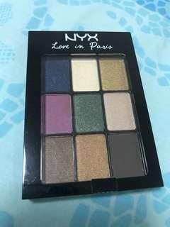 NYX eyeshadow - Love in Paris