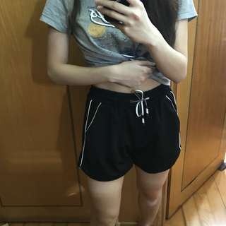 Sporty look shorts