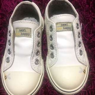Orig NEXT white rubber shoes