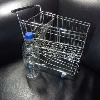 A scaled down model of Supermarket Trolley - collector's item