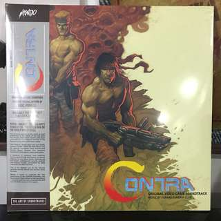 Contra - Vinyl Soundtrack Mondo SDCC Variant Video Game Record LP