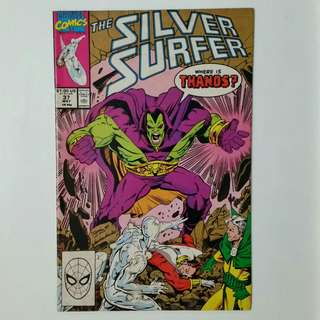 Silver Surfer No.37 comic