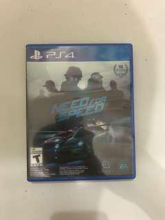 BD PS4 Need for Speed Reg All