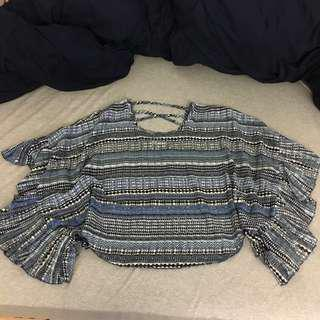 🚚 H&M 歐美 罩衫 上衣