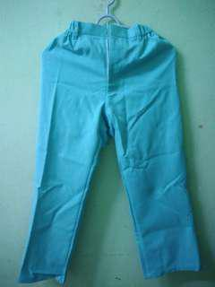 TURQUOISE LOOSE PANTS