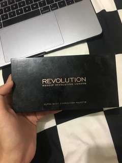 Makeup revolution ultra base corrector pallete
