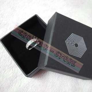 [CRAZY DEAL 90% OFF FROM ORIGINAL PRICE][READY STOCK]EXO LUHAN KOREA OFFICIAL RING(FREE SIZE; MATERIAL:BRASS) WITH BOX 1PC; ORIGINAL FR KOREA (PRICE NOT INCLUDE POSTAGE); POSLAJU:PENINSULAR AREA :RM10/SABAH SARAWAK AREA: RM15