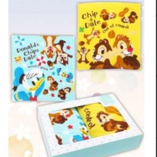 🚚 Disney chip and dale 2pc towel
