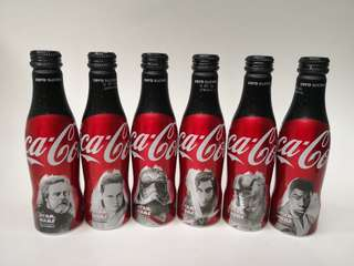 Coca Cola法國星戰可口可樂紀念樽一套