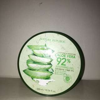 Nature Republic Aloe Vera 92% Moisturizer
