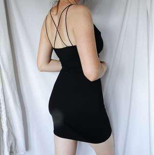 Small Asos Little Black Dress