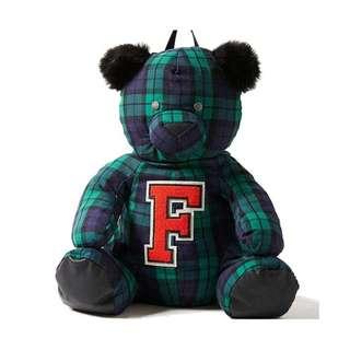 Fenty PUMA 蕾哈娜格紋熊背包