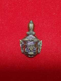 LP Prom Taowesuwan Nur thong Deang Mask Thai amulet